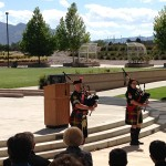 MOAA Memorial - Bagpipe Lament by Mike Henry & Molly Kearney