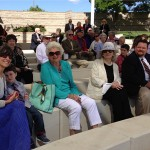 MOAA Memorial - Cindy, Phyllis, Gwen, Patrick & others