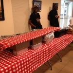 Powdrell's Set-Up for Buffet