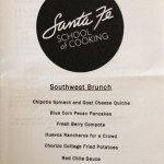 SF School of Cooking - Brunch Menu