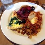SF School of Cooking - Final Brunch Plate
