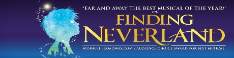 Finding Neverland - December 16, 2018 @ Popejoy Hall | Albuquerque | New Mexico | United States