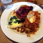 SF School of Cooking - Final Brunch Plate